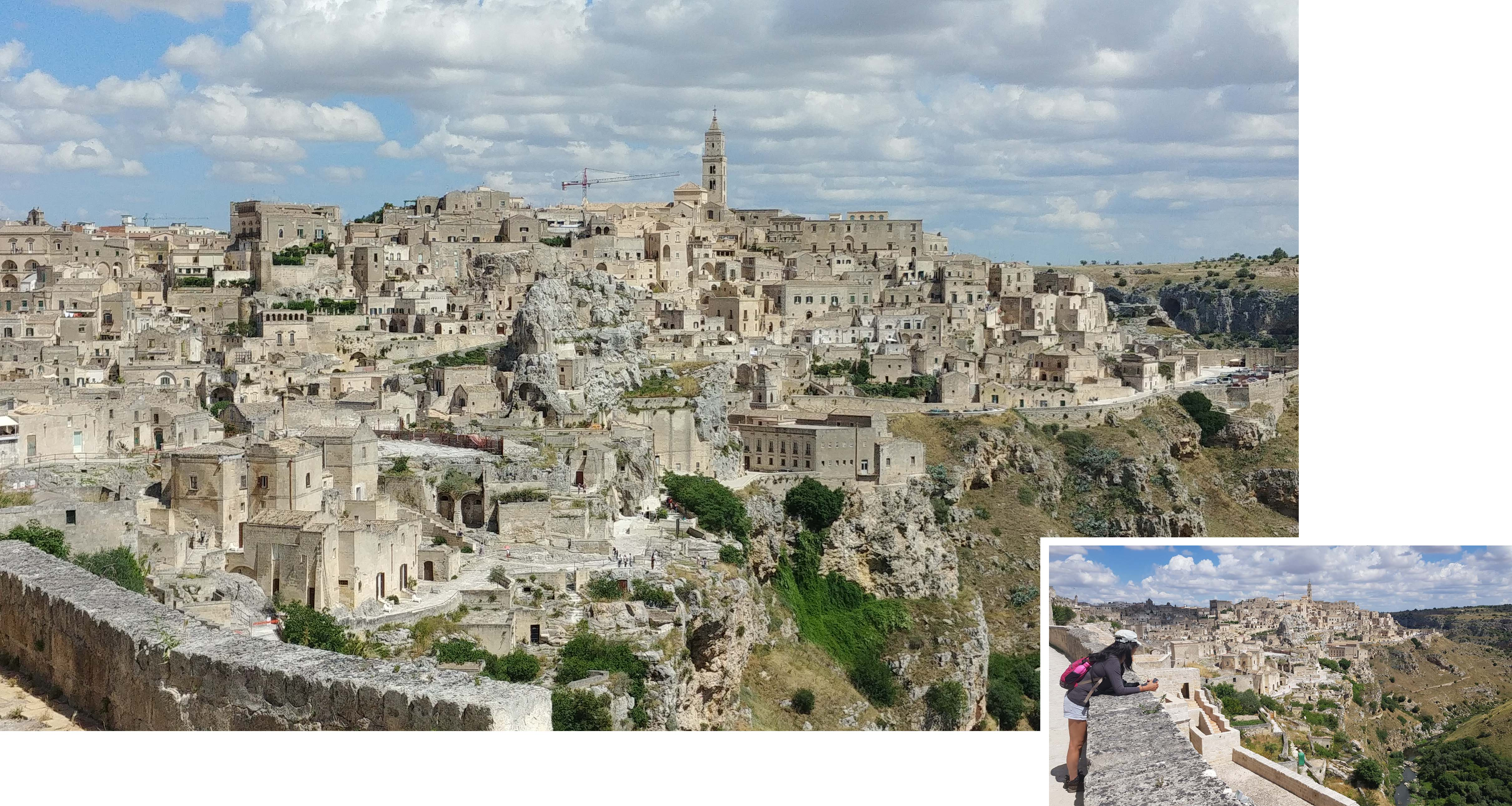 Matera at 10.30am in the morning