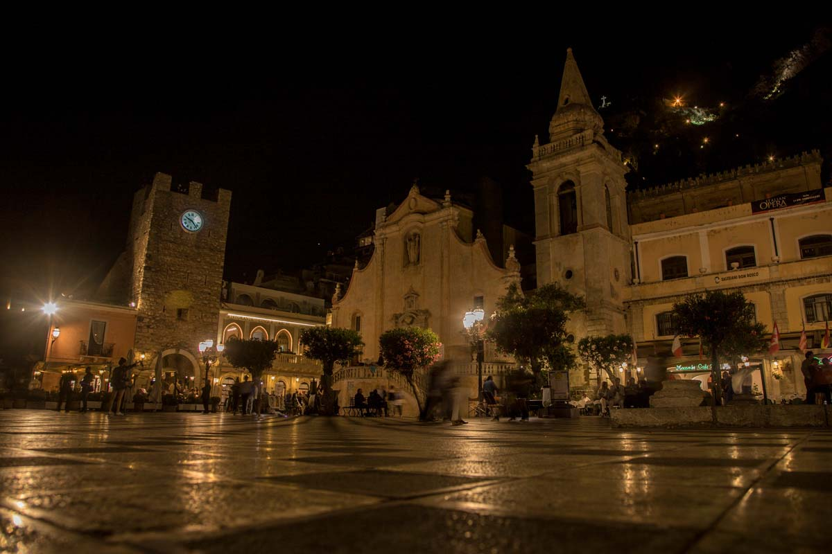 Chiesa di San Giuseppe after night fall