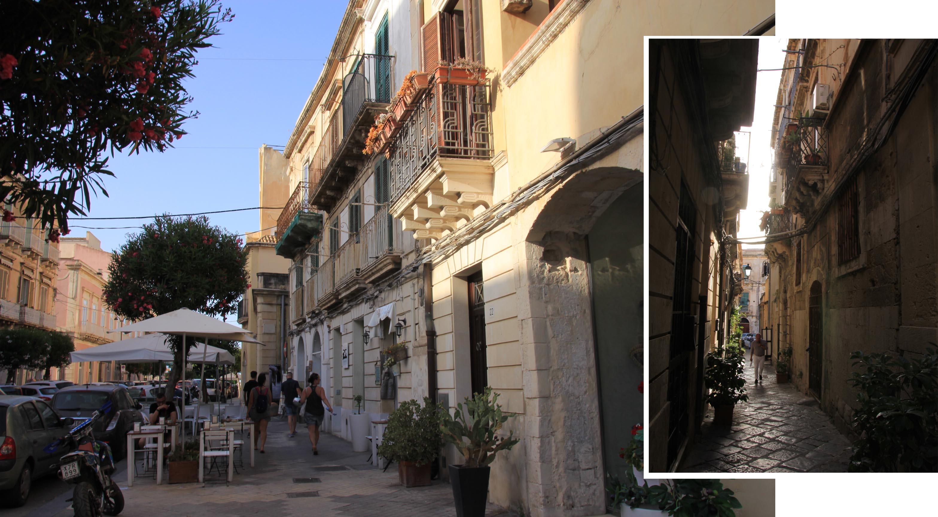 Streets and alleys of Ortigia