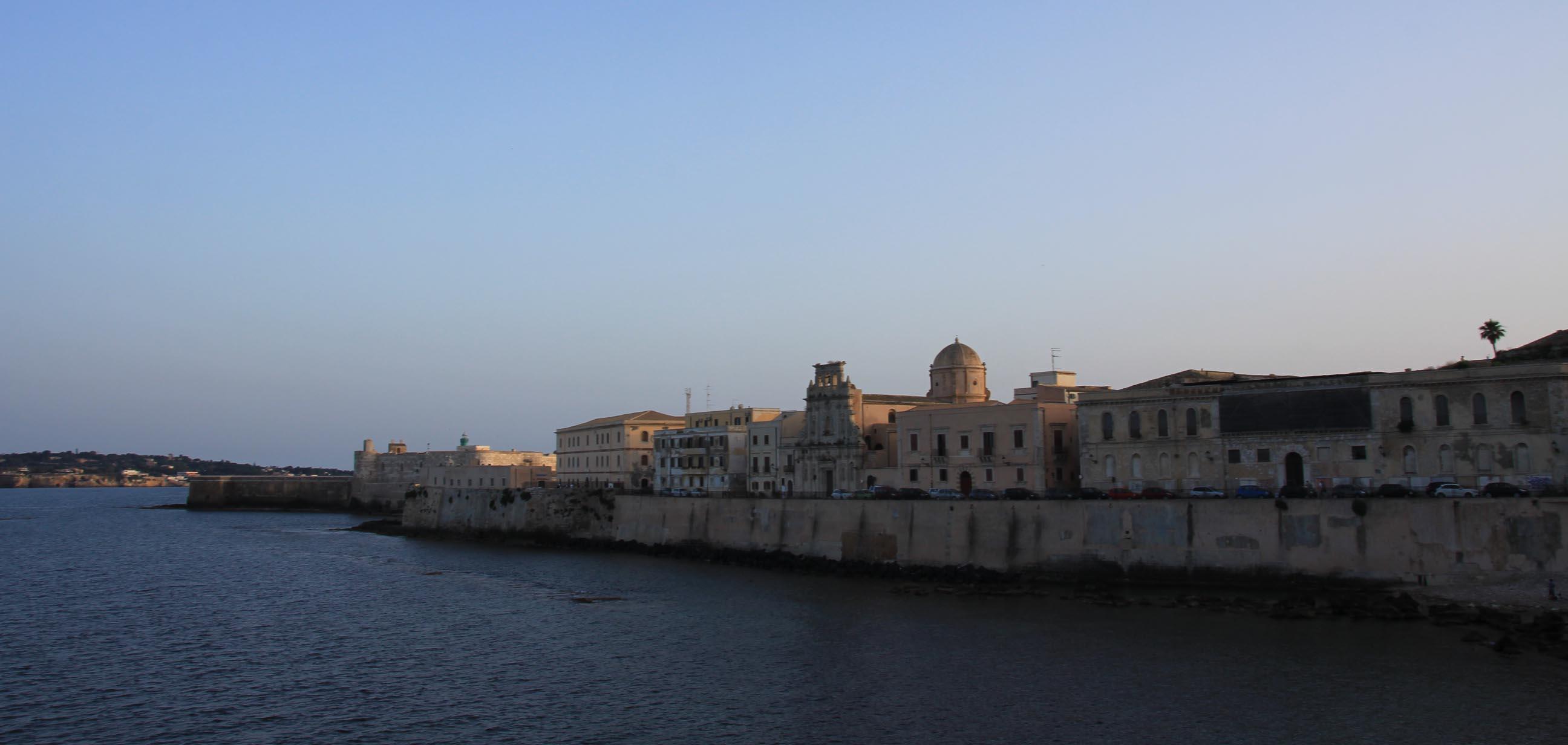 East side of Ortigia