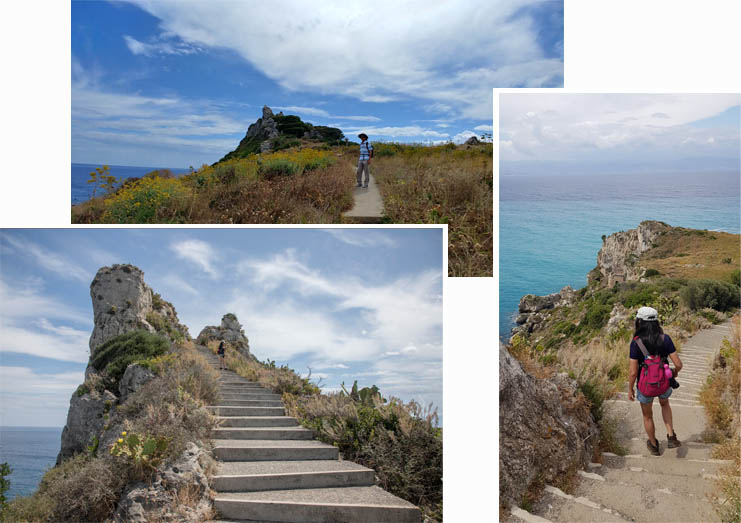Steps and steps to the cape?