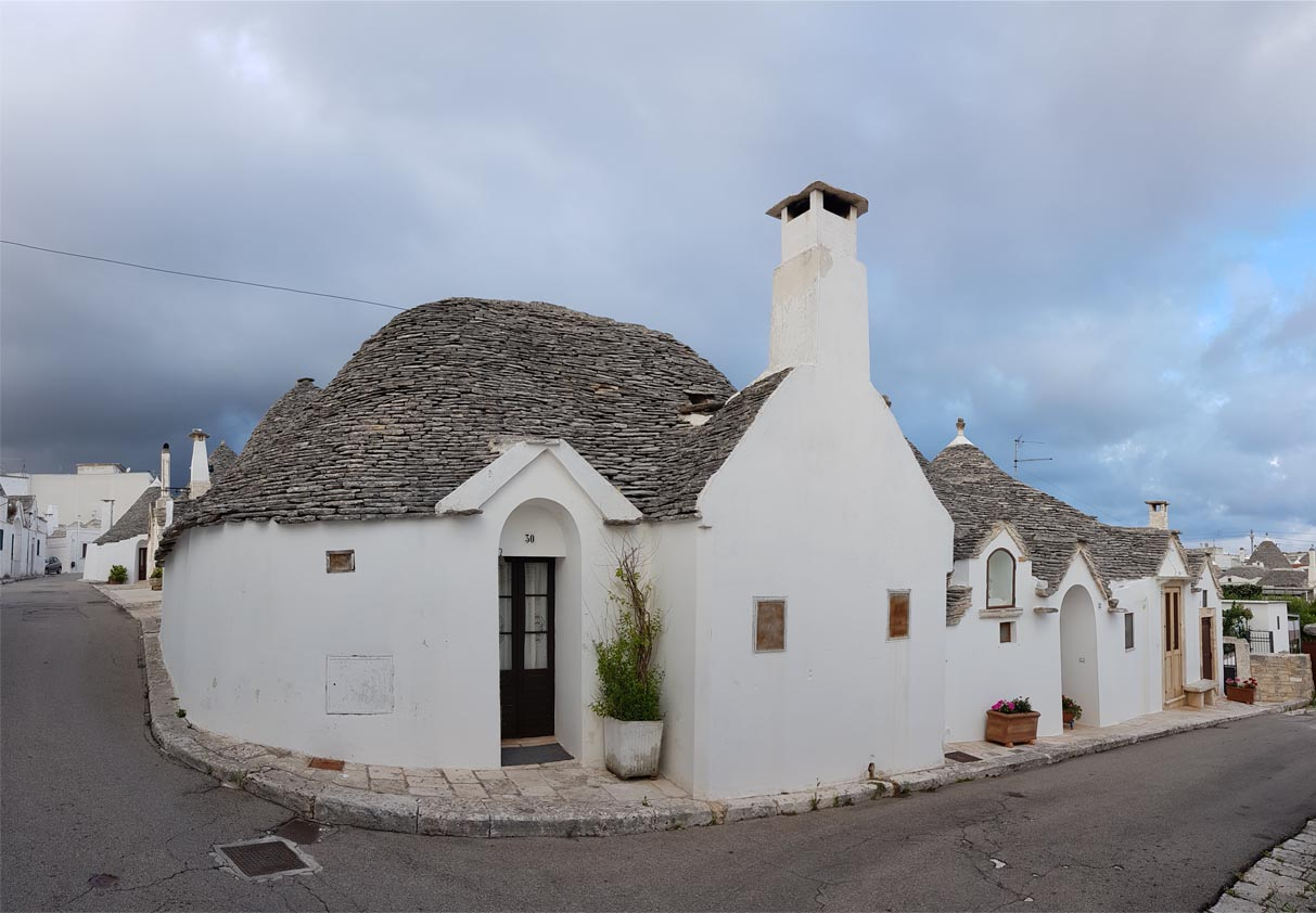 Trulli Town at Alberobello