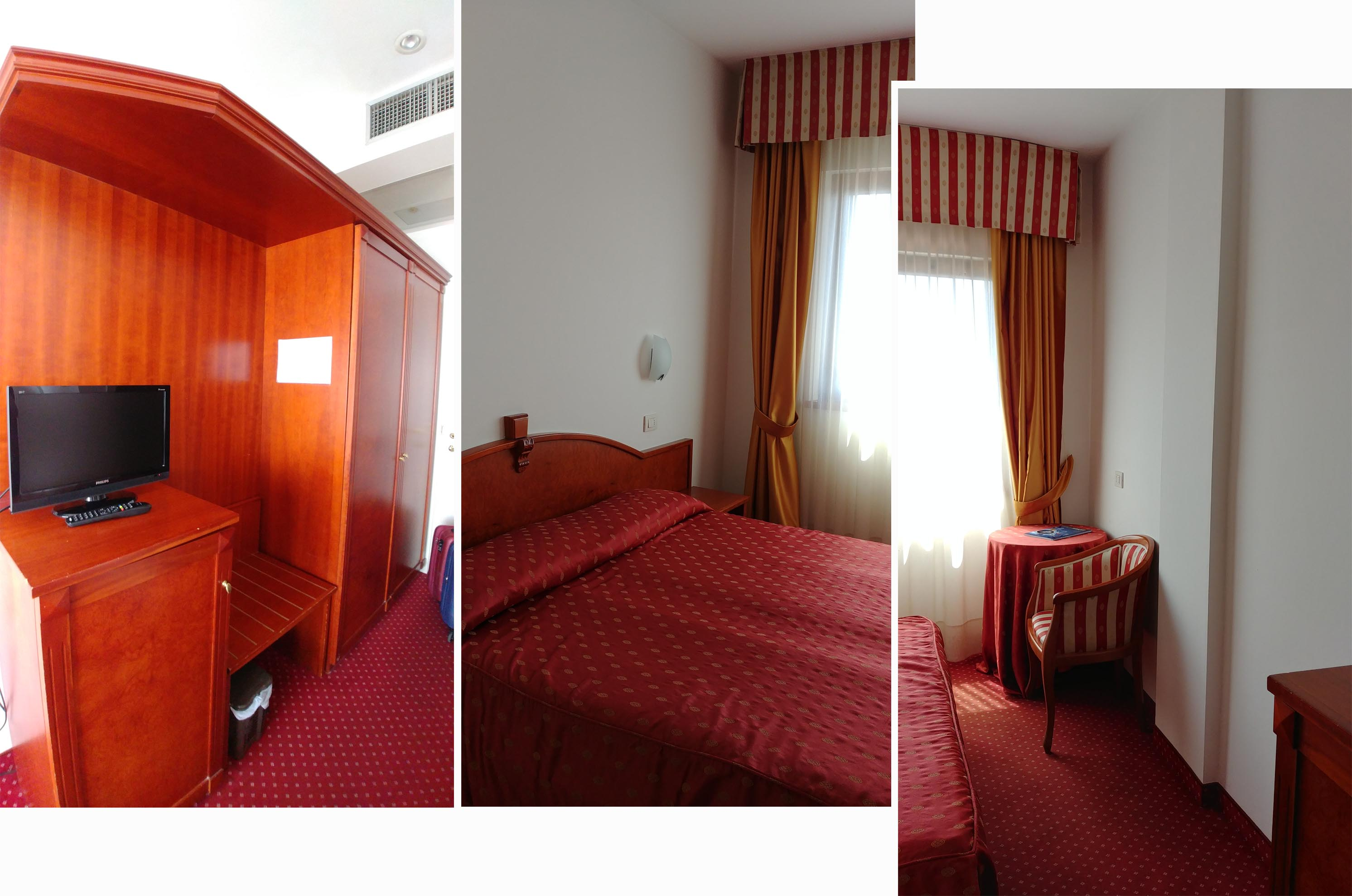 Our double room at Hotel Joli