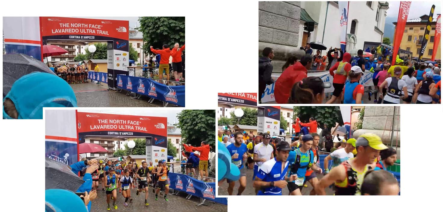 Lavaredo Ultra Trail flagged off
