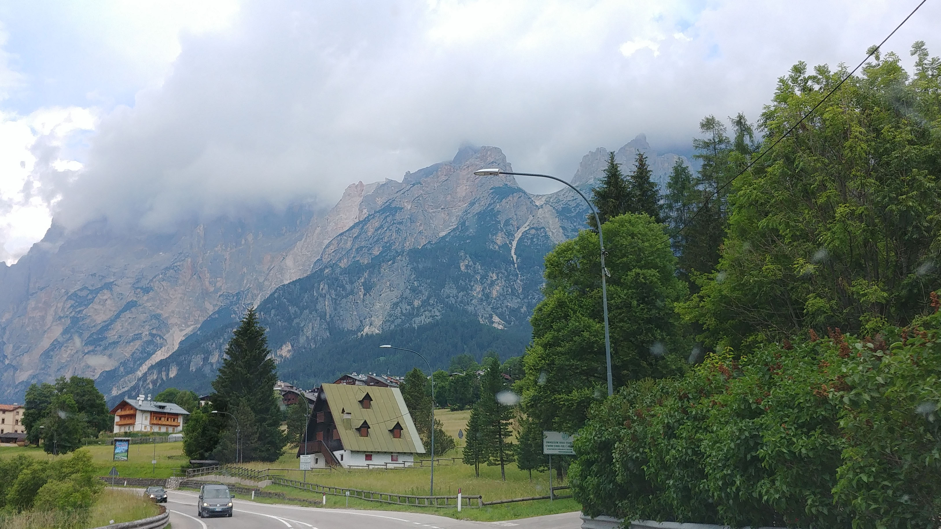 Enroute to Cortina d' Ampezza