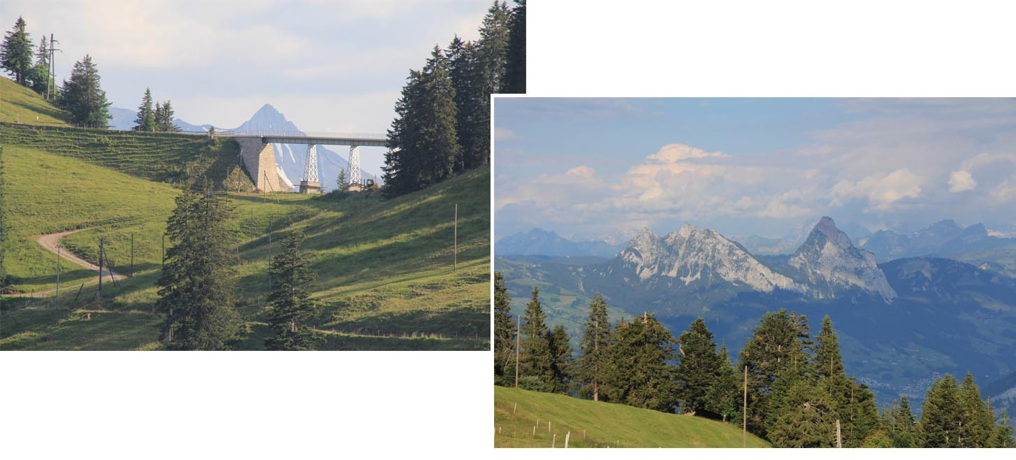 Seeing far and wide on Rigi Klosterli trail
