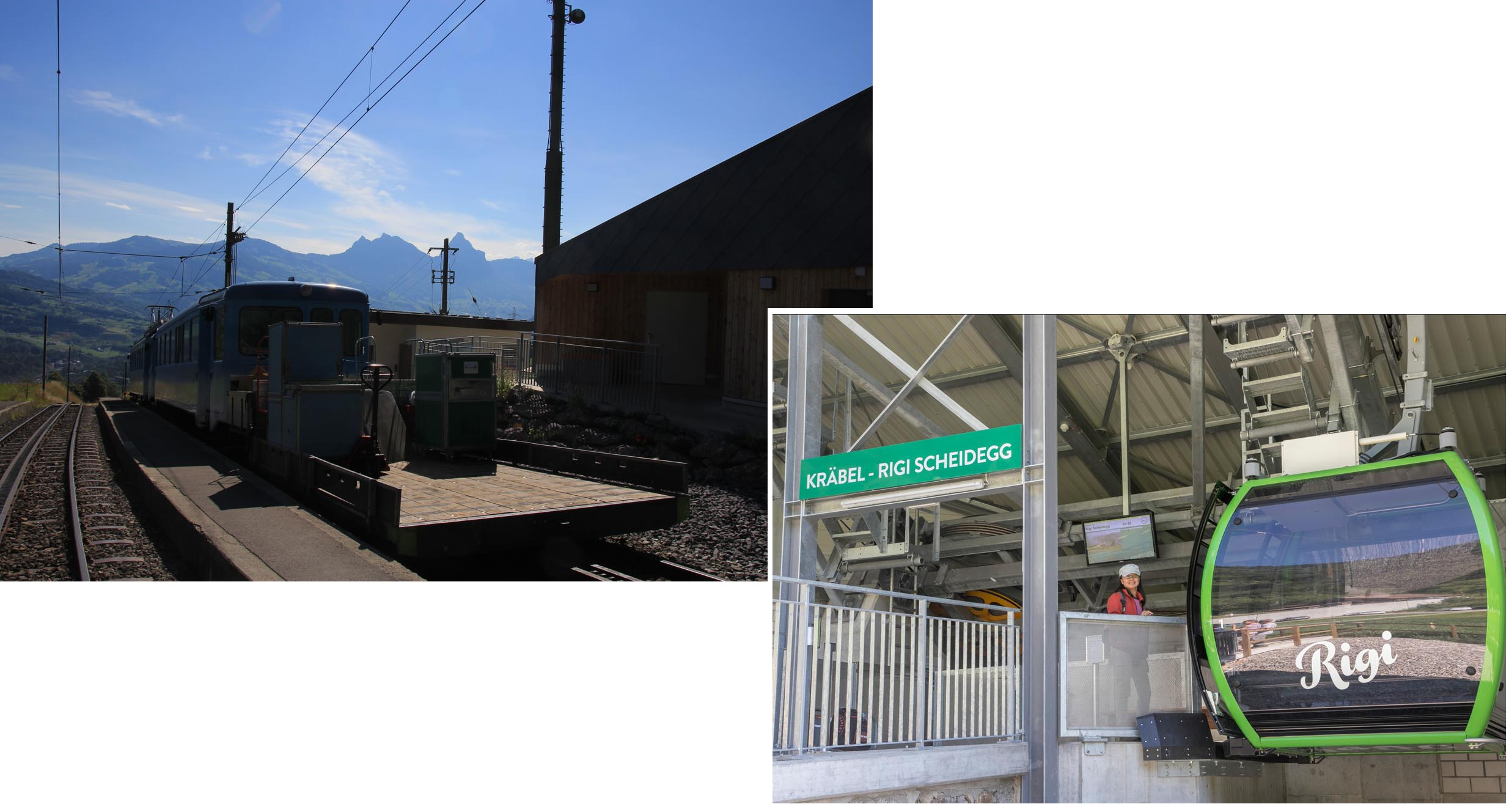 Krabel Station and Cable car station