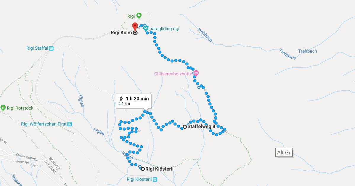 Rigi Klum Ridge Trail