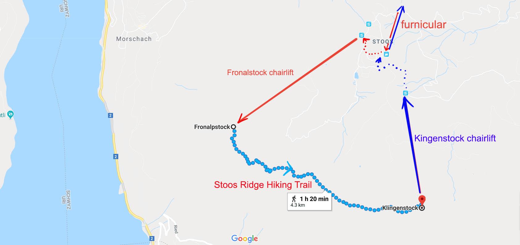 Stoos Ridge Hiking Trail