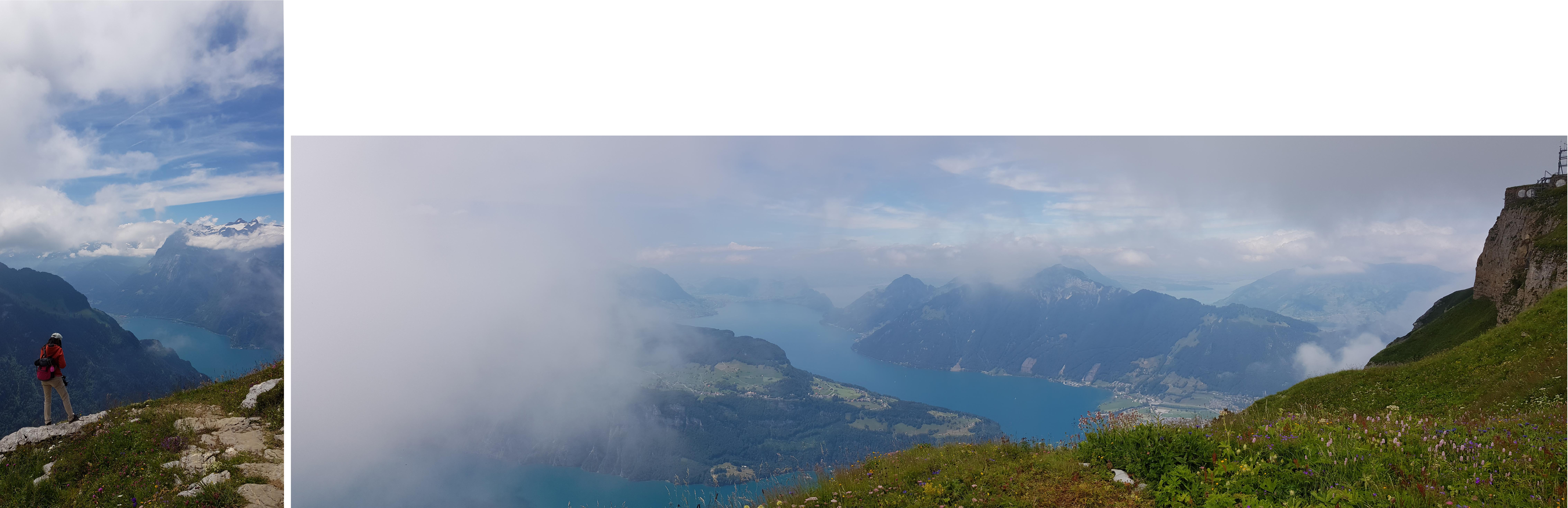 Lake Lucerne and Mount Rigi