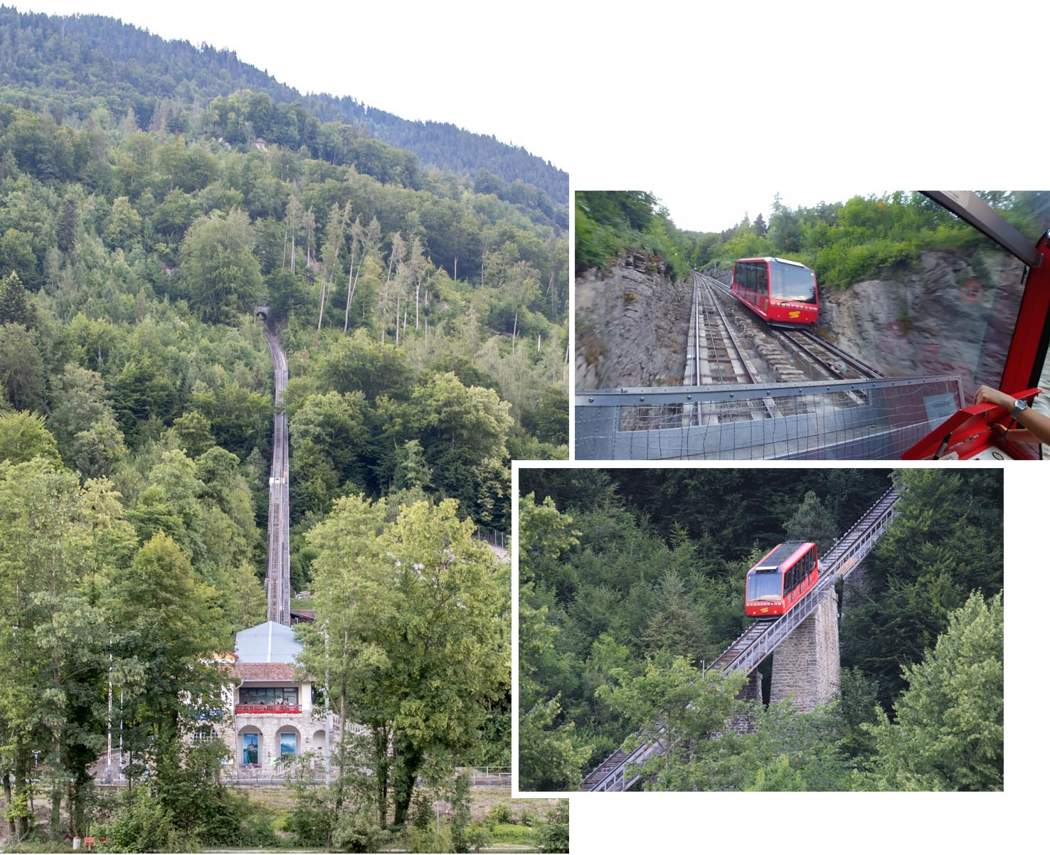 Funicular stations