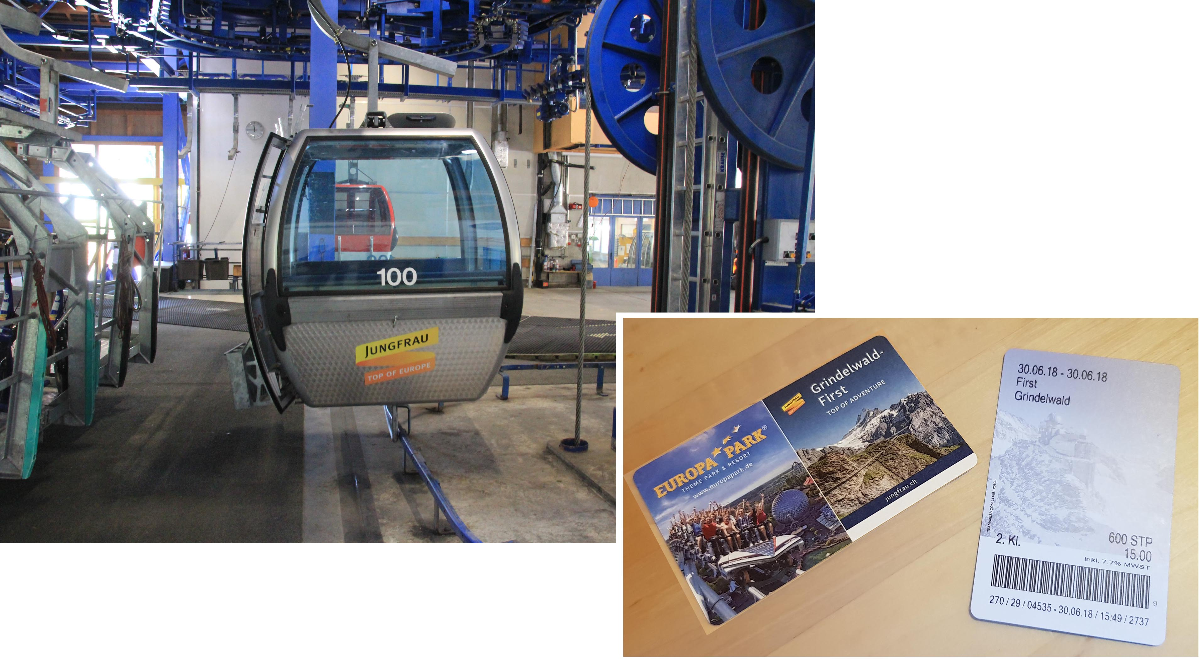 Grindelwald-First cable car