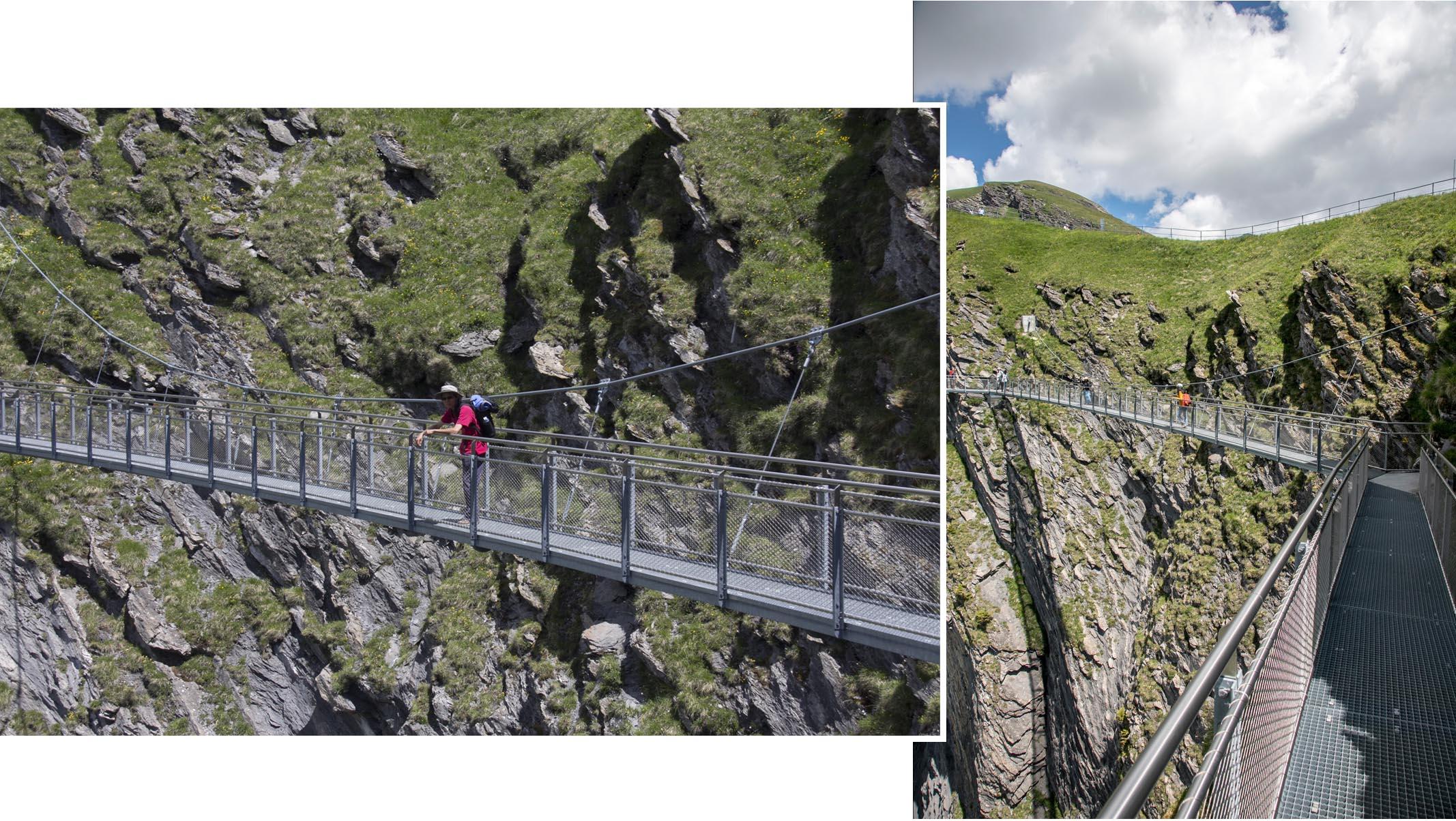 Tissot Cliff walk