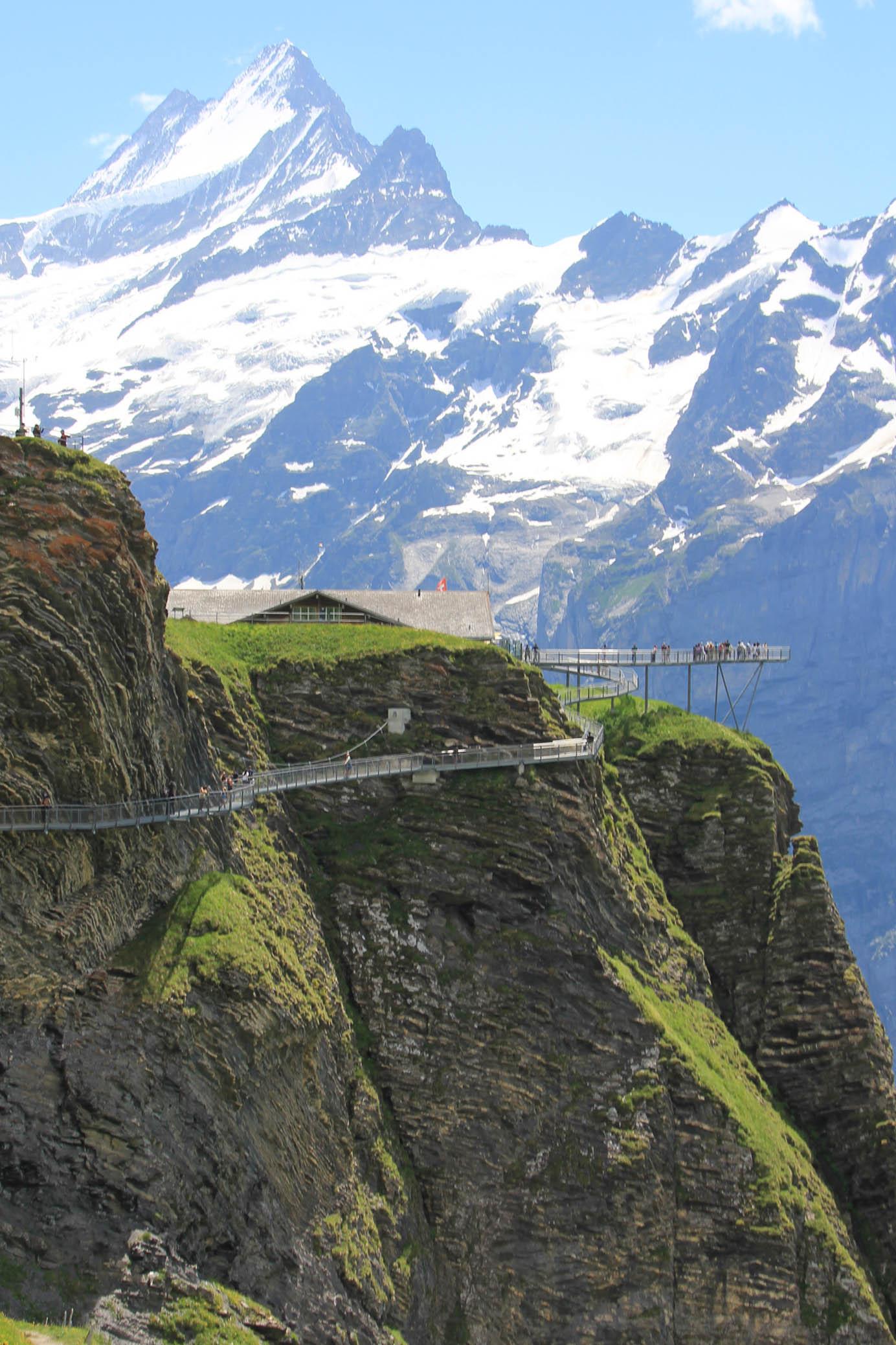 Tissot Cliff Walk at Grindelwald First