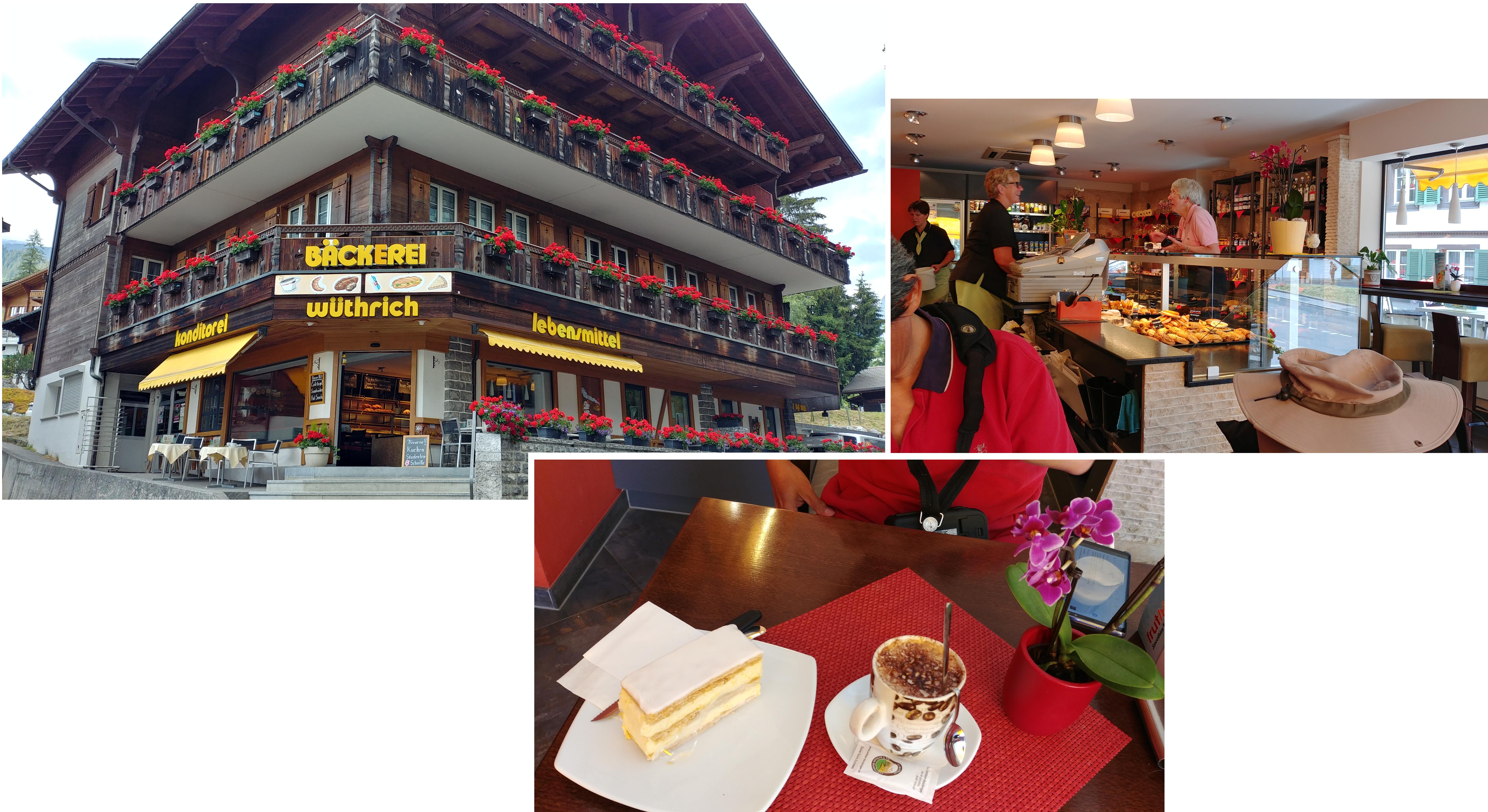 Coffee break at Grindelwald