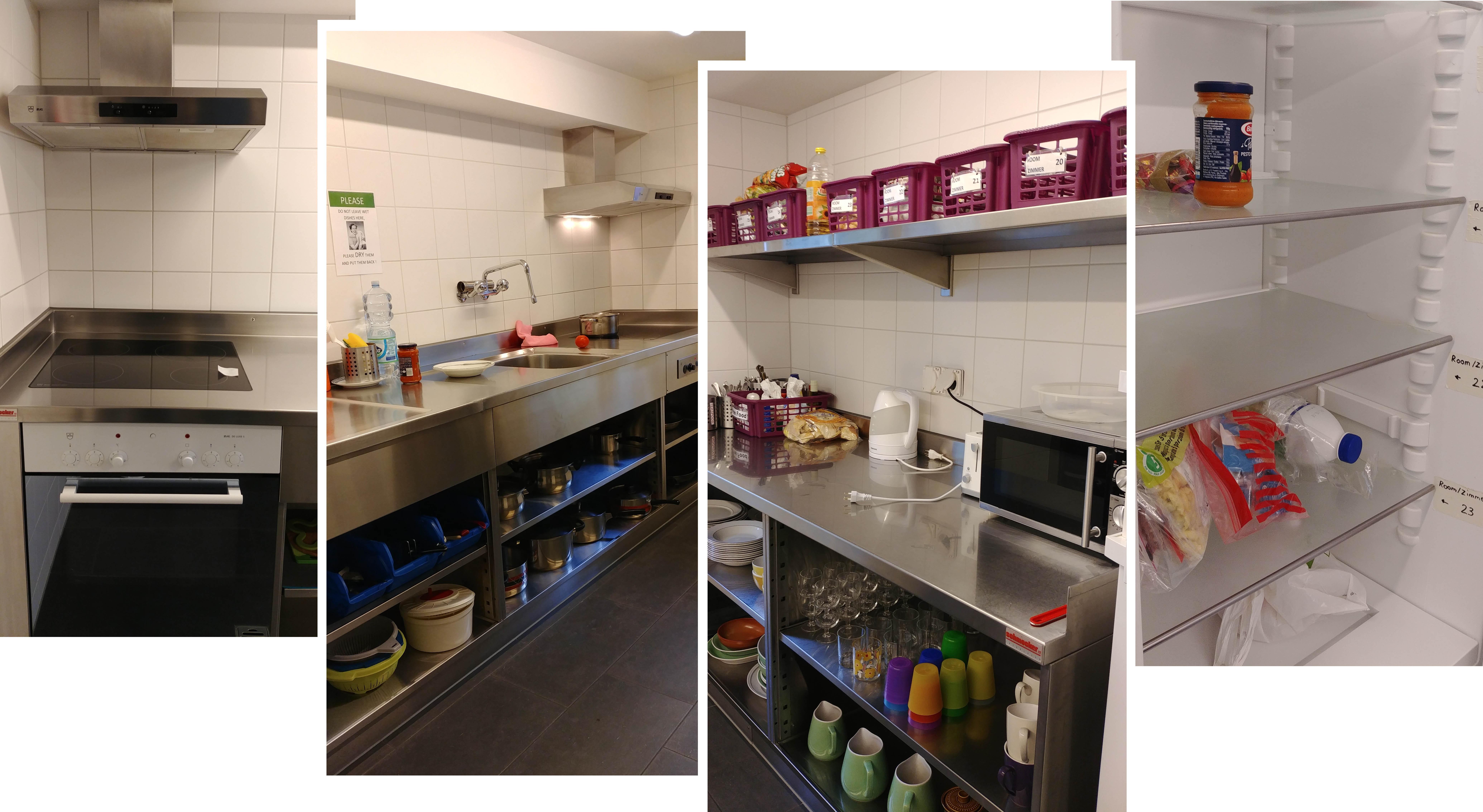 Shared Kitchen at Valley Hostel