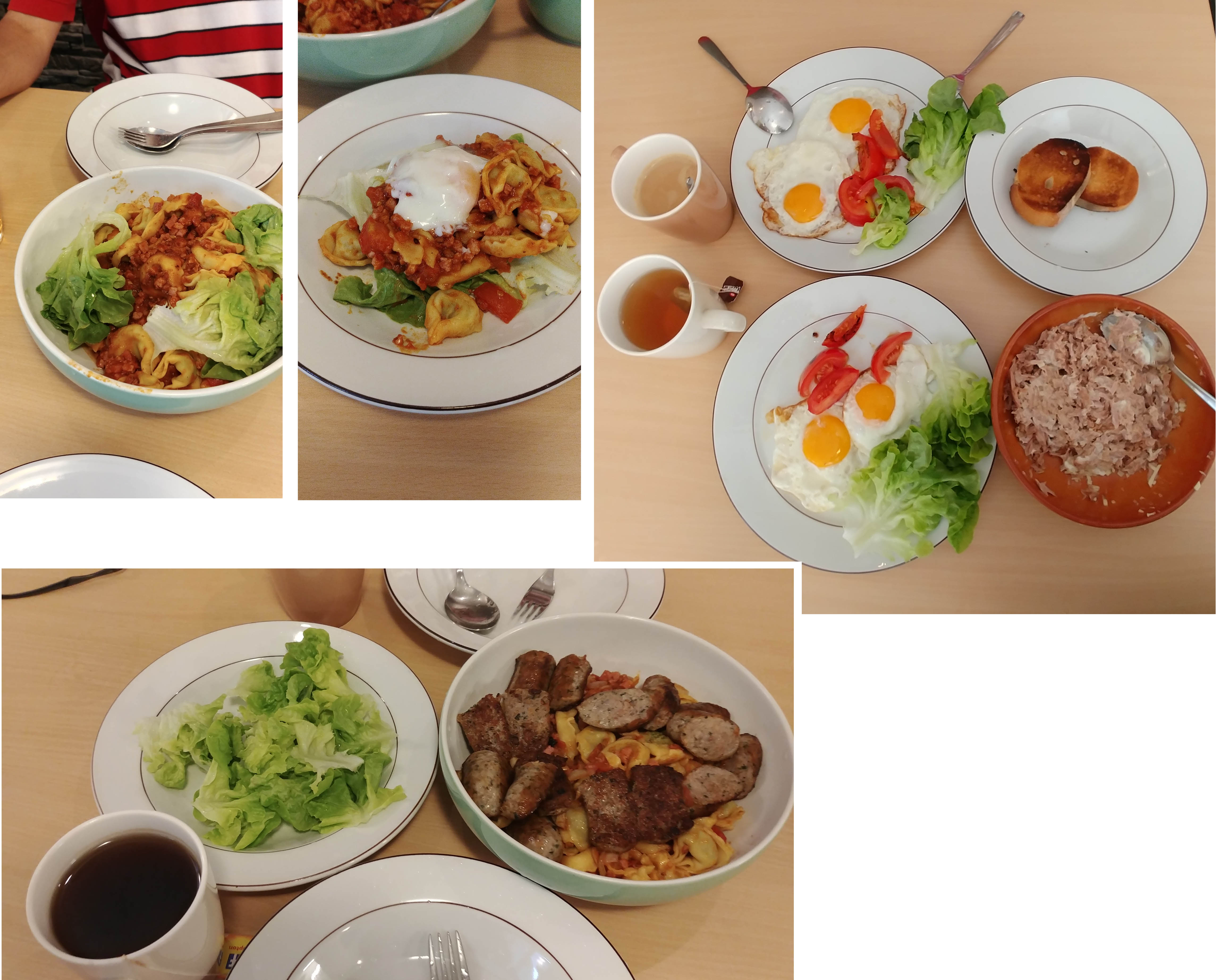 Our homecooked meals at Valley Hostel