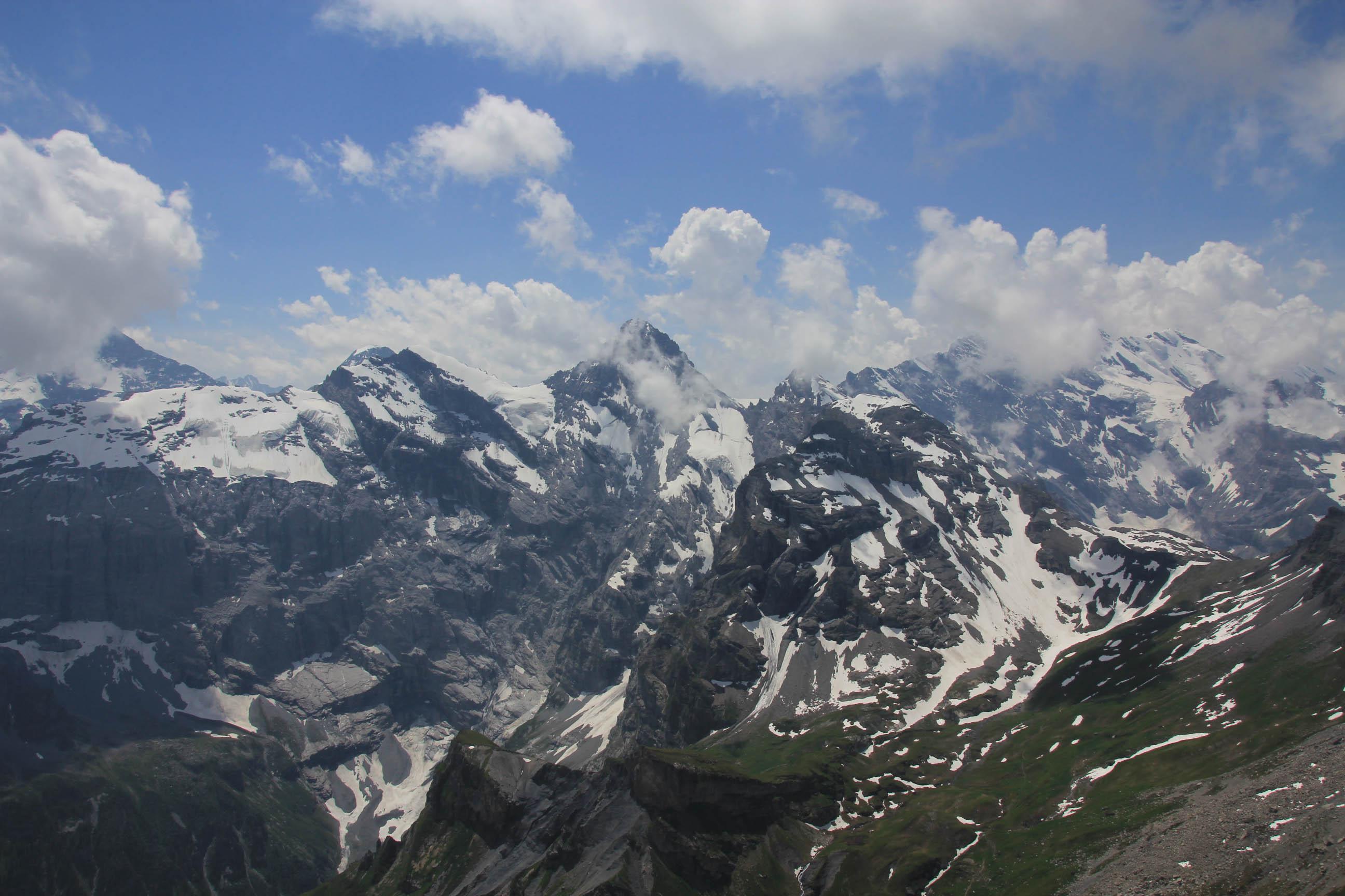 Alps as seen from Schilthorn