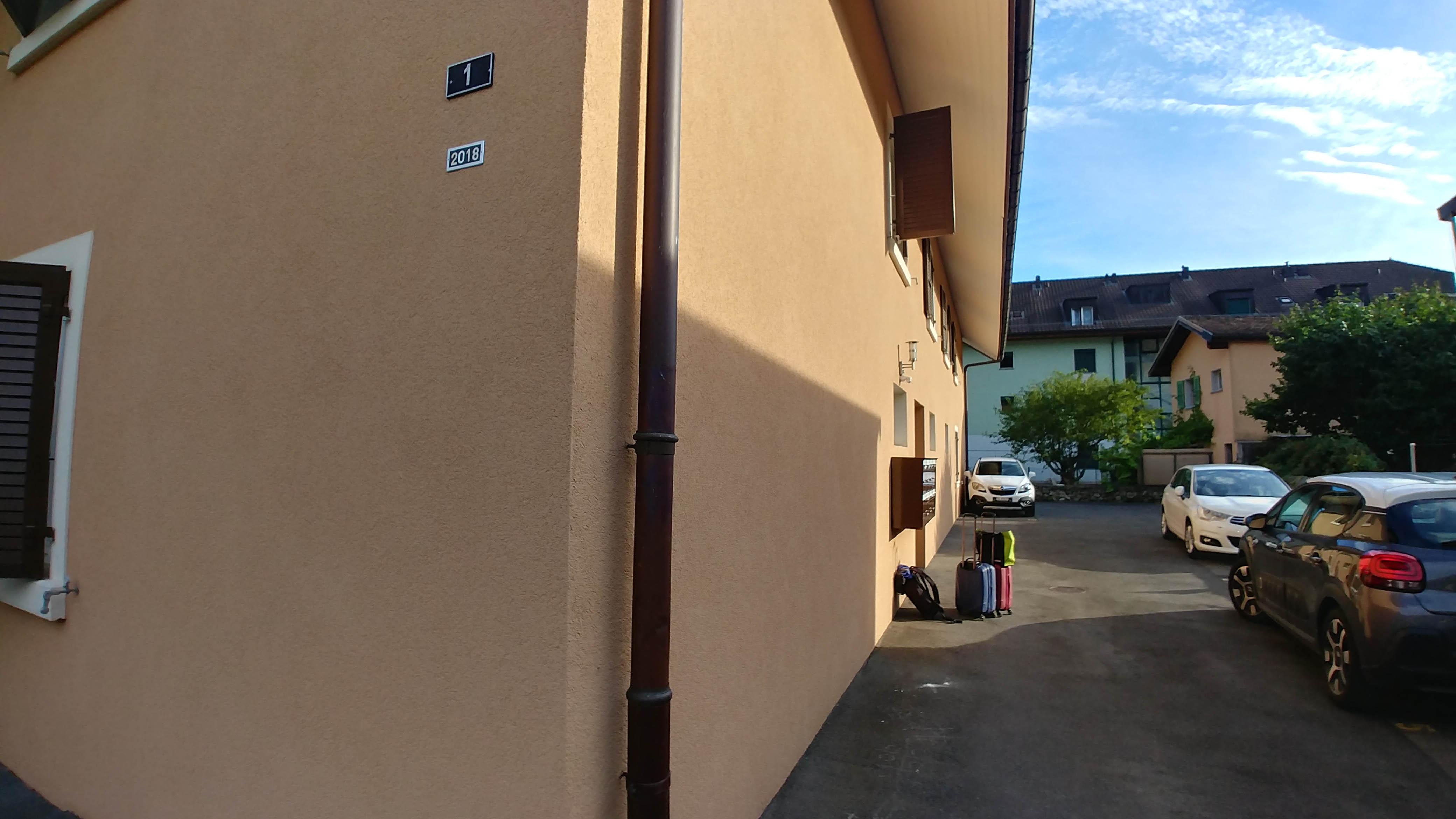 Sophie's apartment block