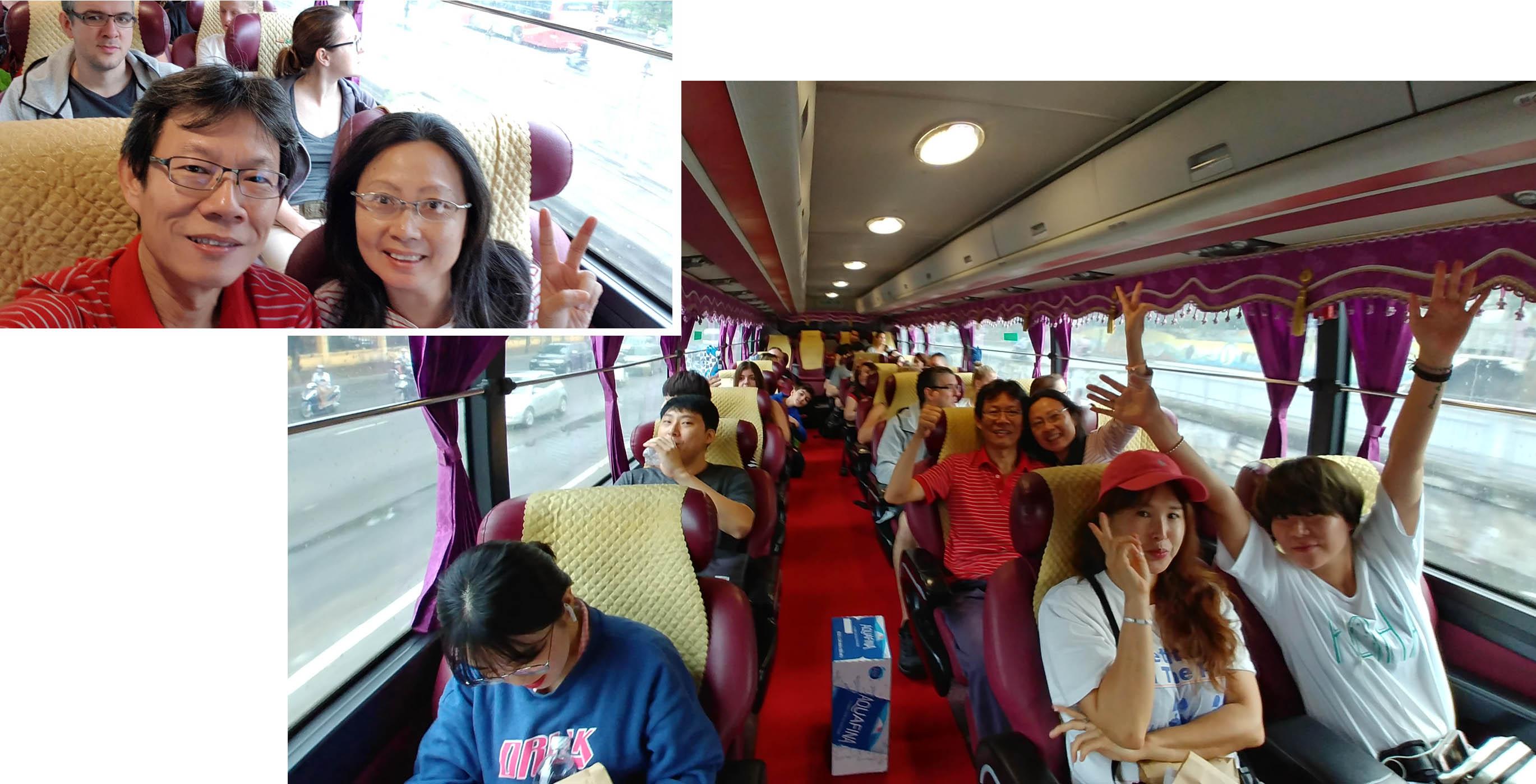 Onboard Sapa Express (28 seat)