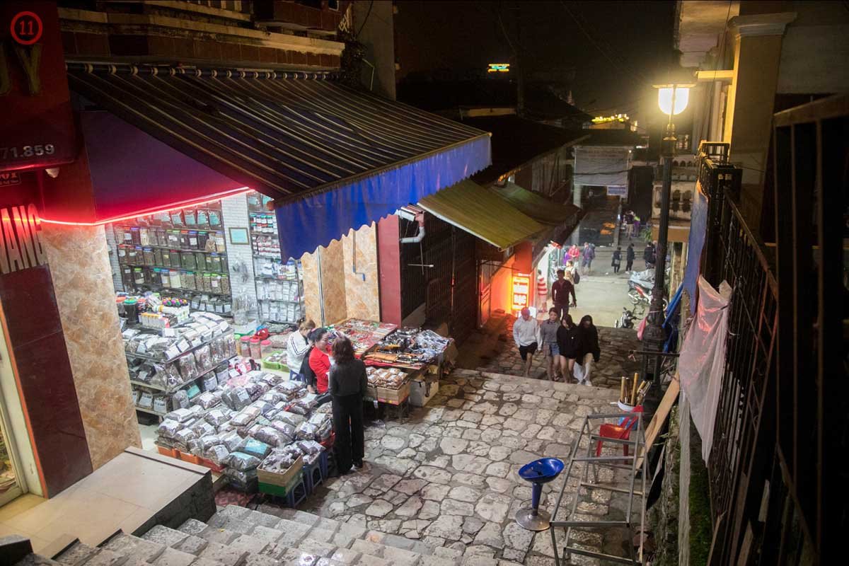 a Sapa Alley