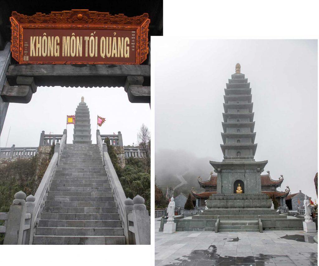 Pagoda at Fansipan