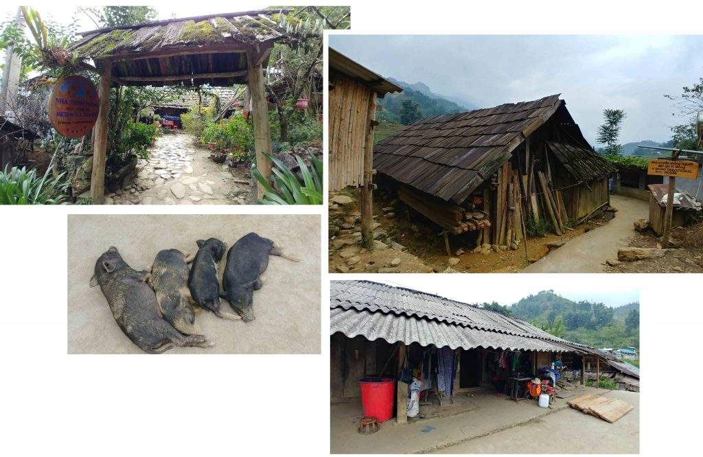 A Hmong Traditional house