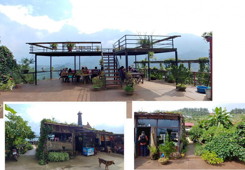 Cafe at Cat Cat Village