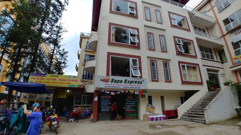 Sapa Express office at Sapa