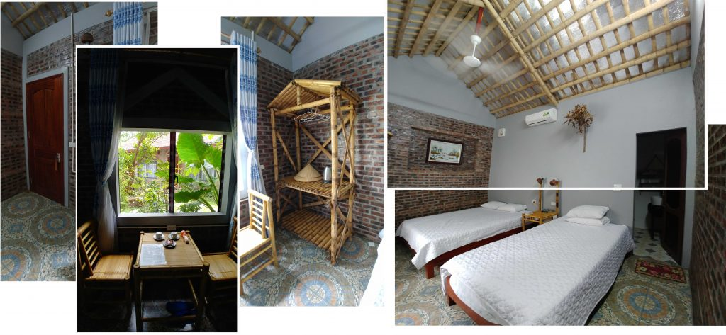 Our room at Anh Tuan Tam Coc Old Space Bungalow