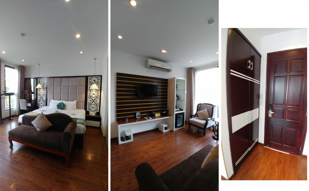 The best room at Hanoi Glance Hotel