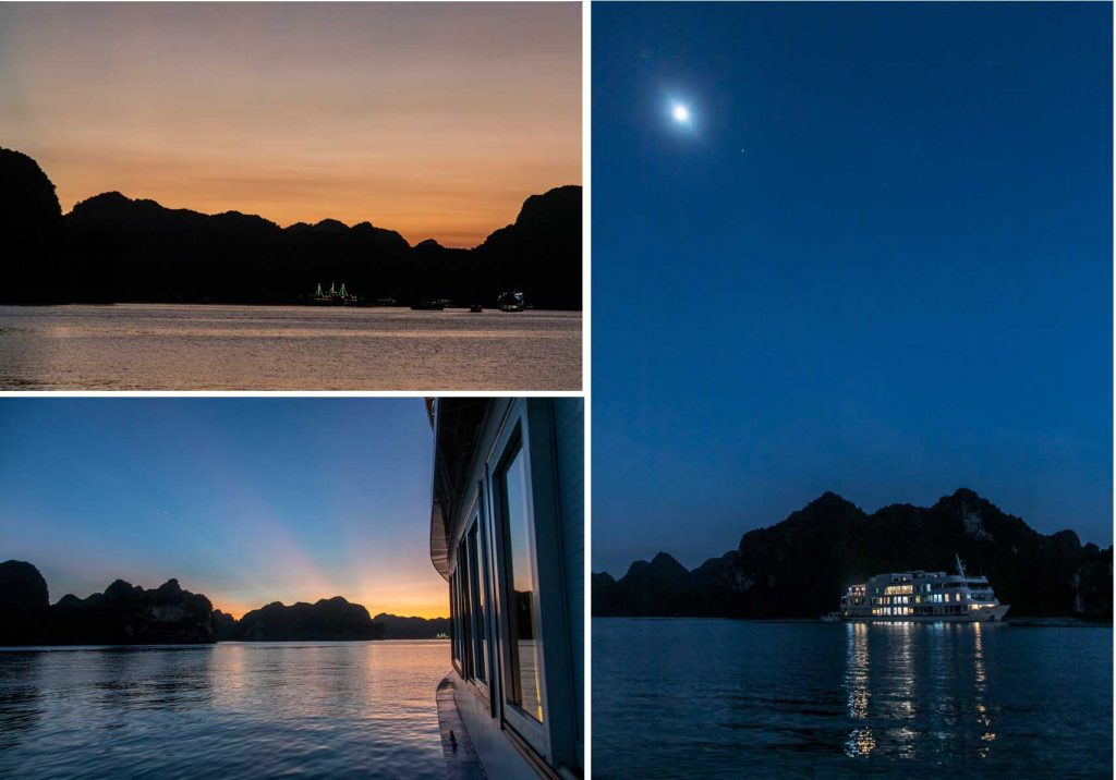 Sunset at Lan Ha Bay