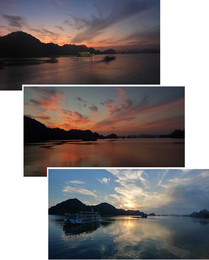 Sunrise on Lan Ha Bay