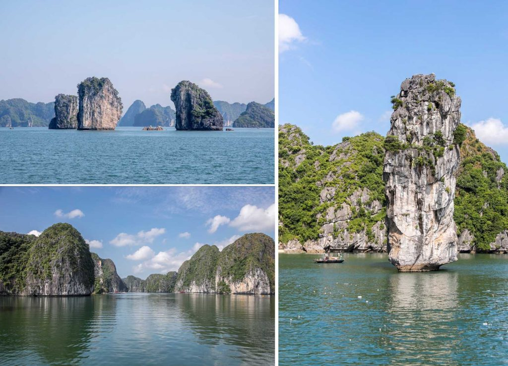 Halong Bay and Lan Ha Bay