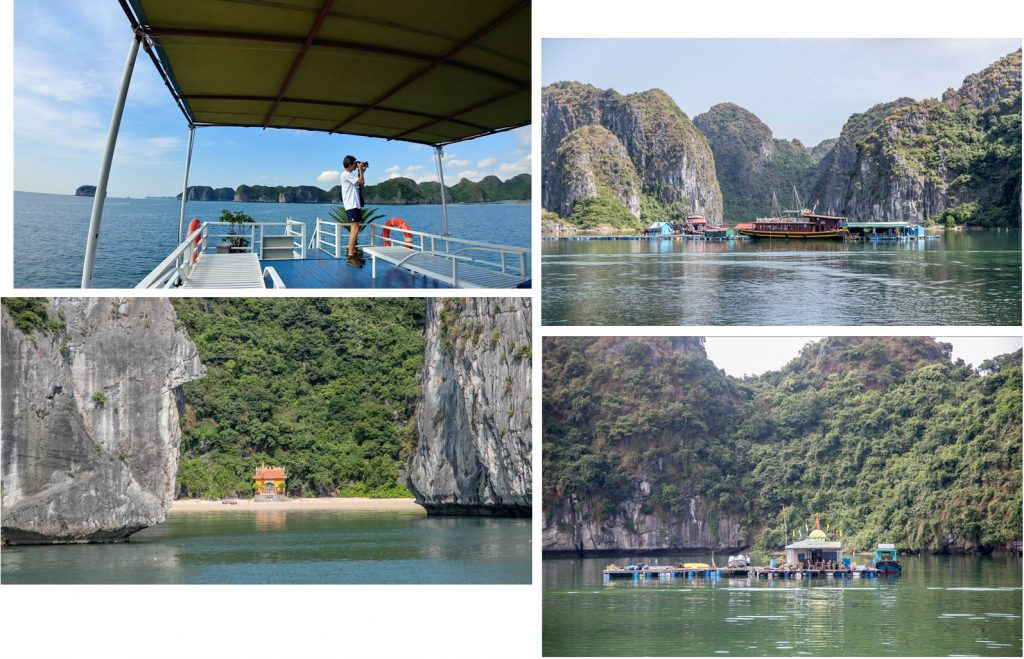 On our way to Cat Ba Island