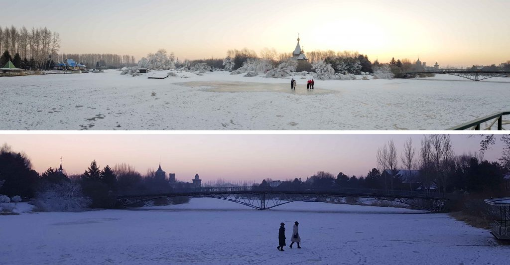 Sunrise at Volga Manor