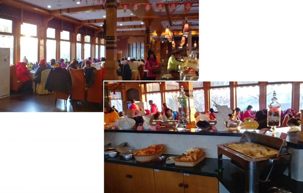 Buffet breakfast at Volga Manor