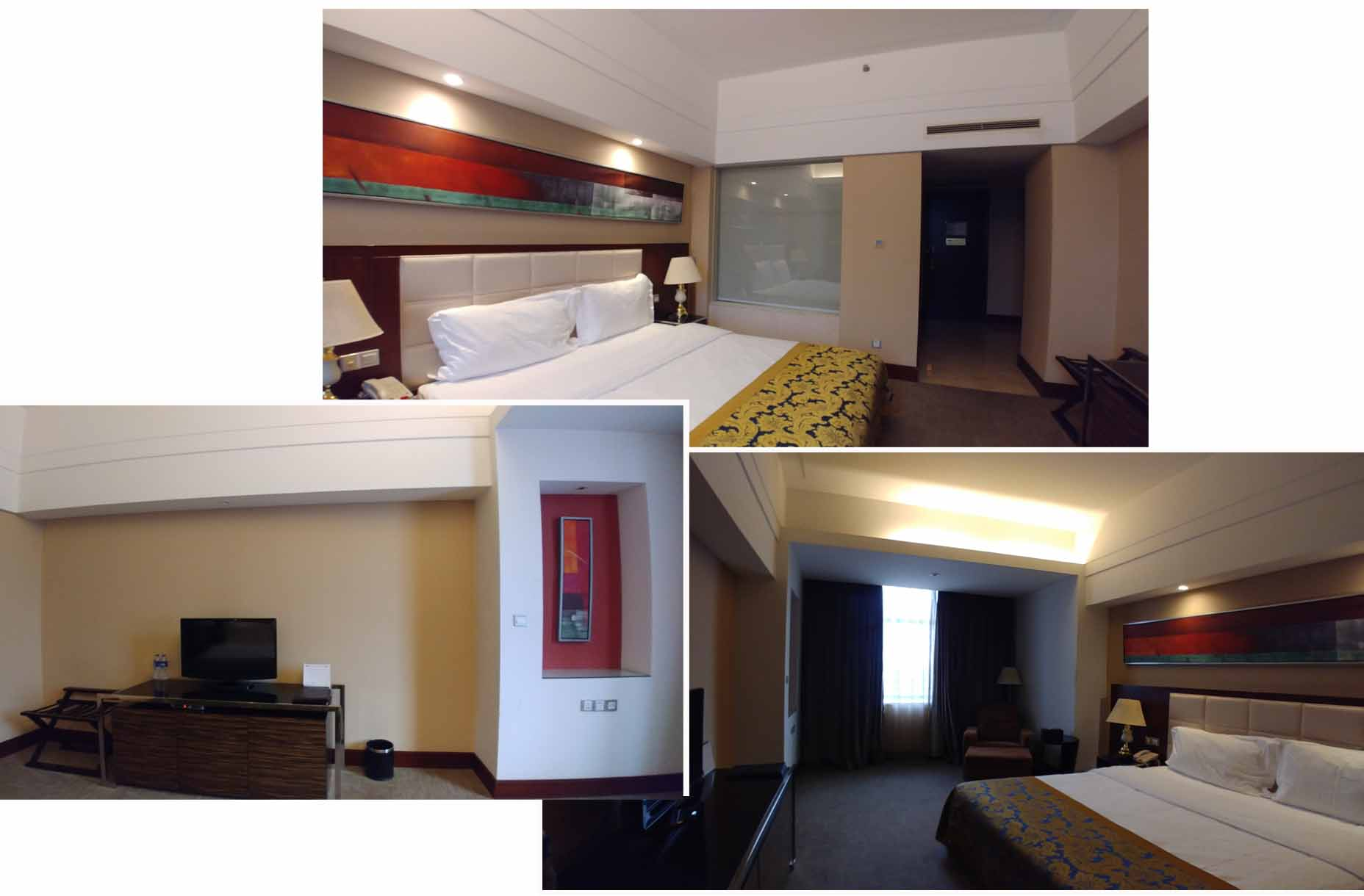 Our double room at Grand Legend Hotel MuDanJiang
