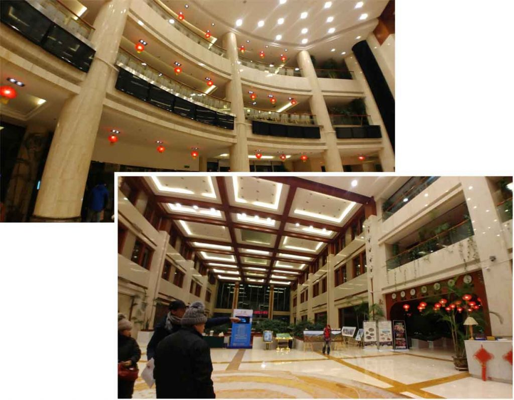 Lobby of Yabuli International Hotel 亚布力广电国际酒店