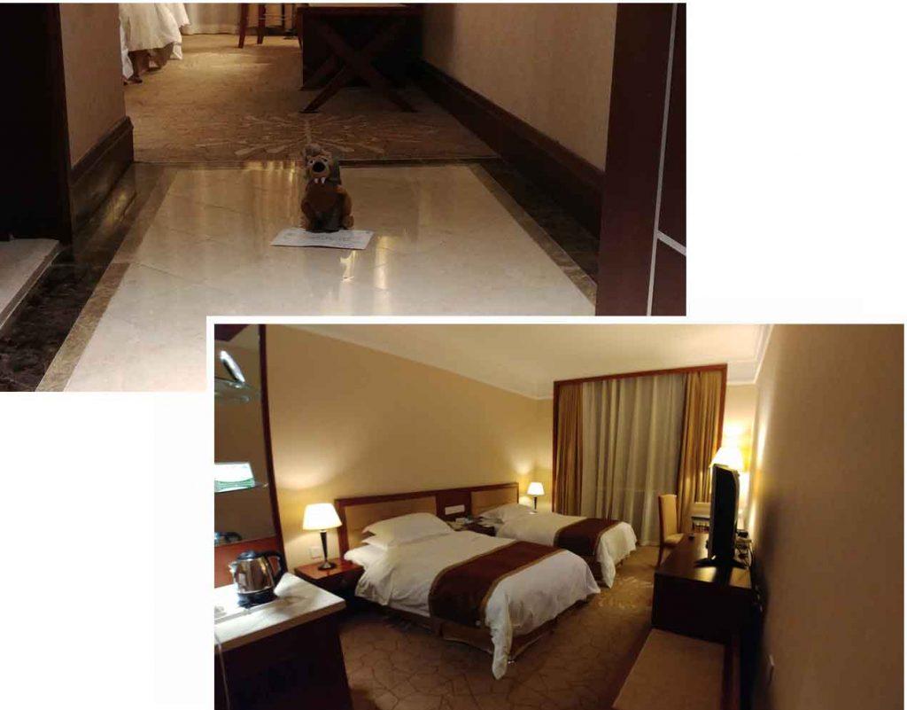 Our room at Yabuli International Hotel