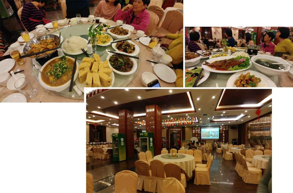 Dinner at Yabuli International Hotel