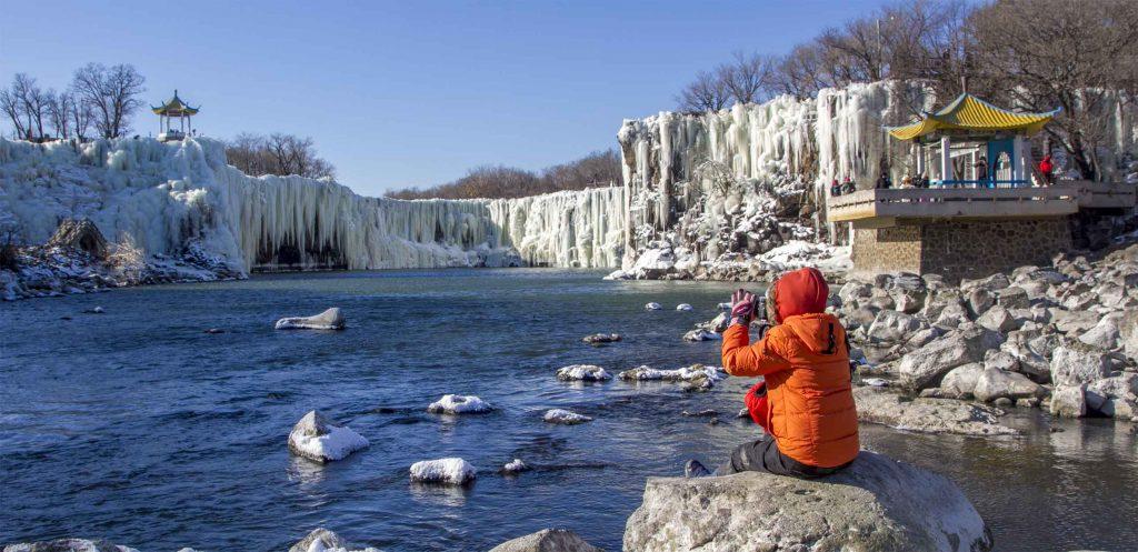 DiaoShuiLou ( 吊水楼)  Waterfall