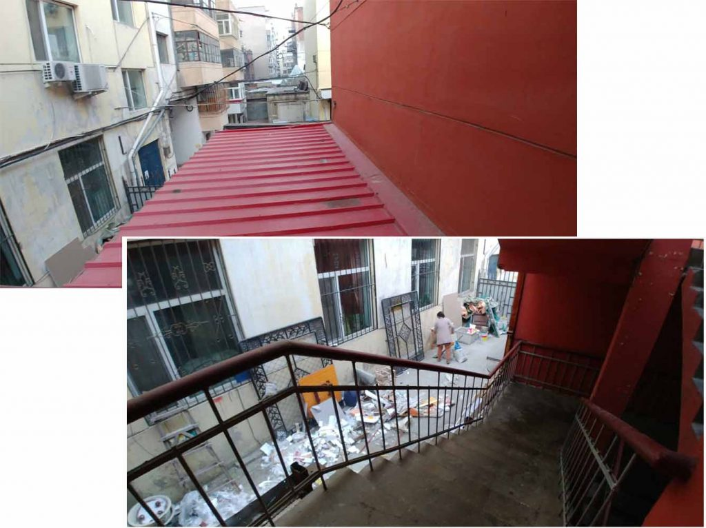 Side Yard of the hostel