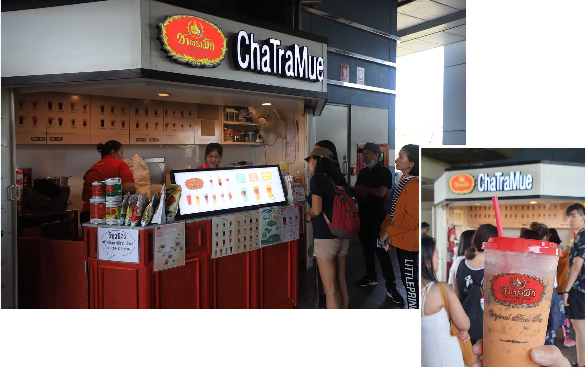 Cha Tra Mue at Mo Chit Skytrain Station