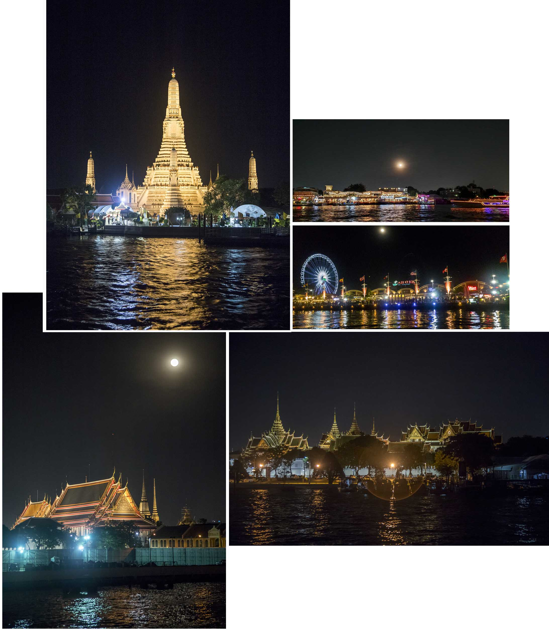 Cruising Chao Phraya in the evening