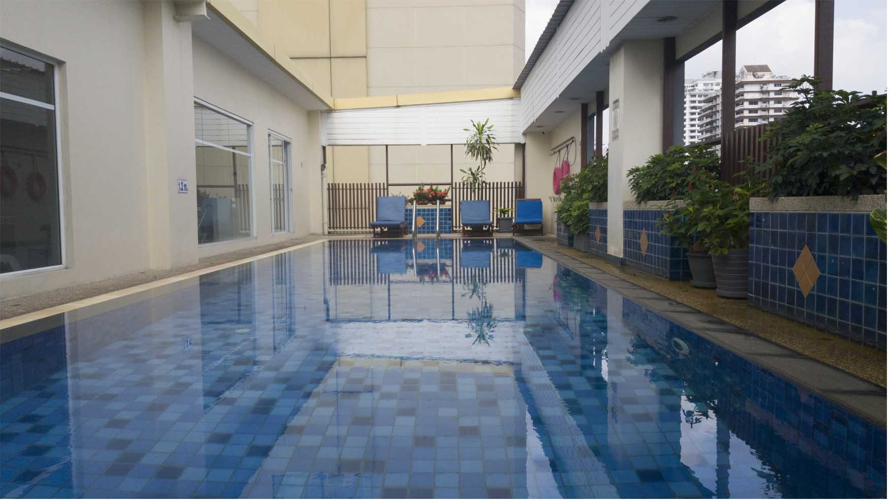 Swimming Pool at Citadines Street 16