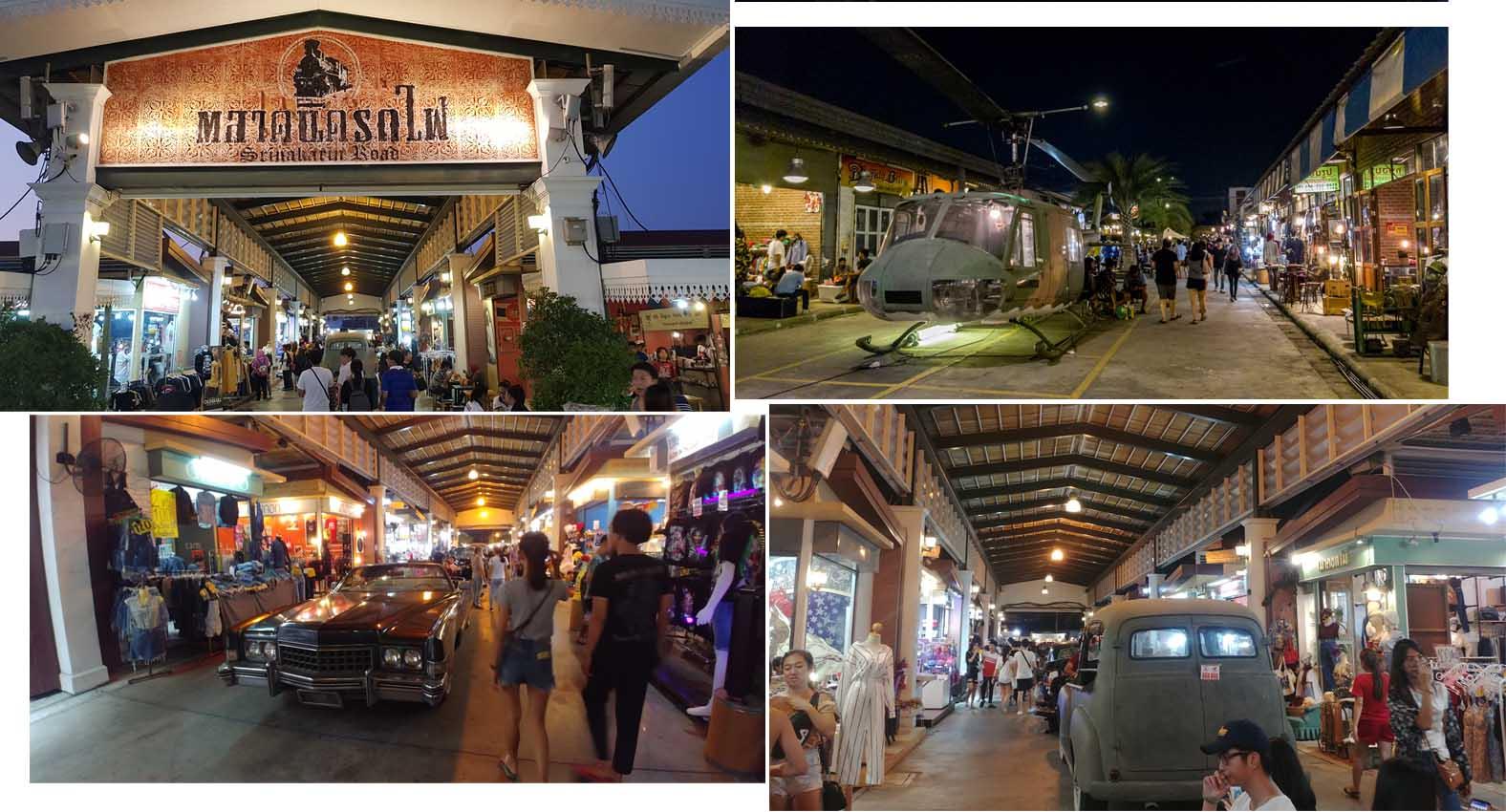 Talad Rod Fao Train Market