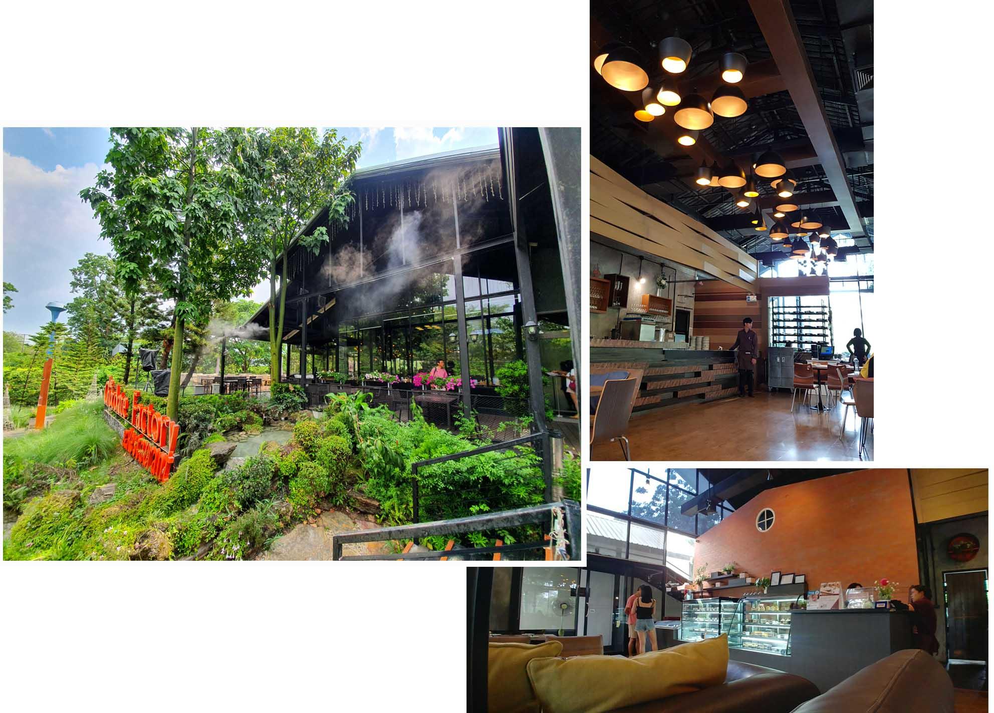 Hidden garden and dining restaurant