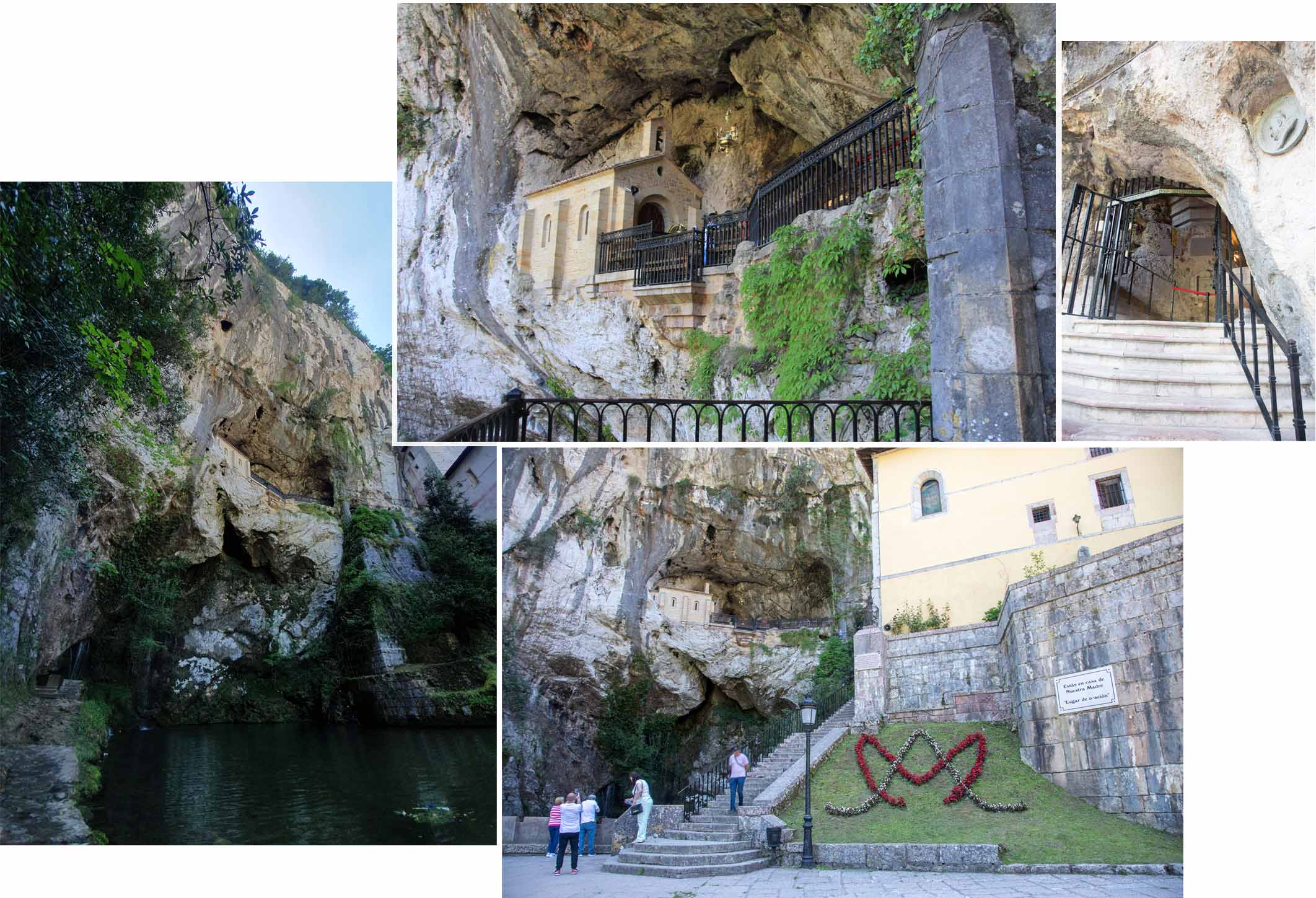 The Holy Cave of Covadonga
