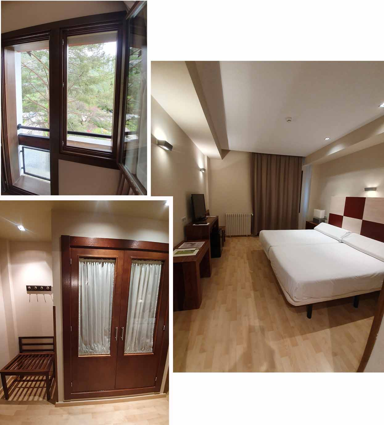 Double room at  Silken Ordesa Hotel